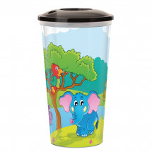 IML drink cup Zoo, 0.5 l